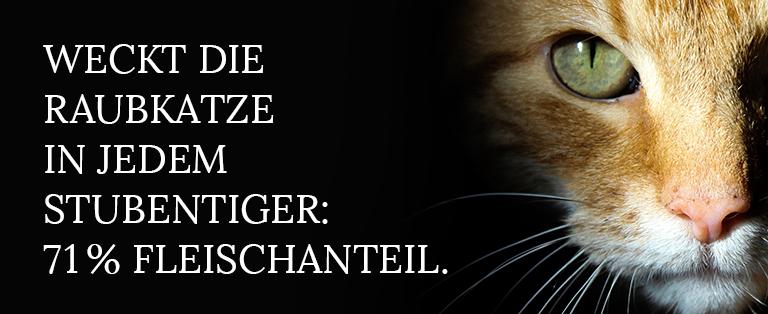 Katzenfutter Fleischanteil