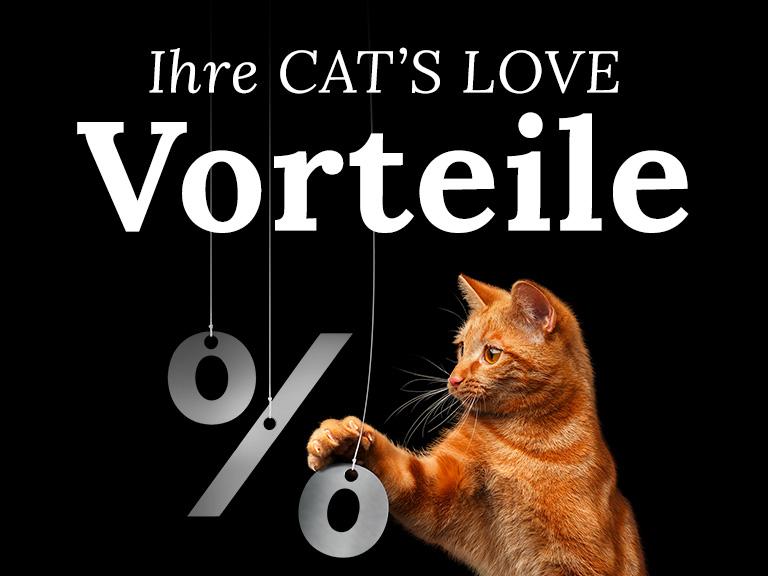 Ihre CAT'S LOVE Vorteile